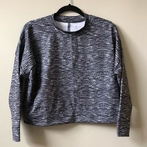Lou & Grey Cropped Long Sleeve Top NWT